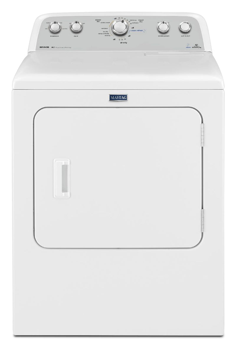 Maytag White Electric Dryer (7.0 Cu. Ft.) - YMEDX6STBW