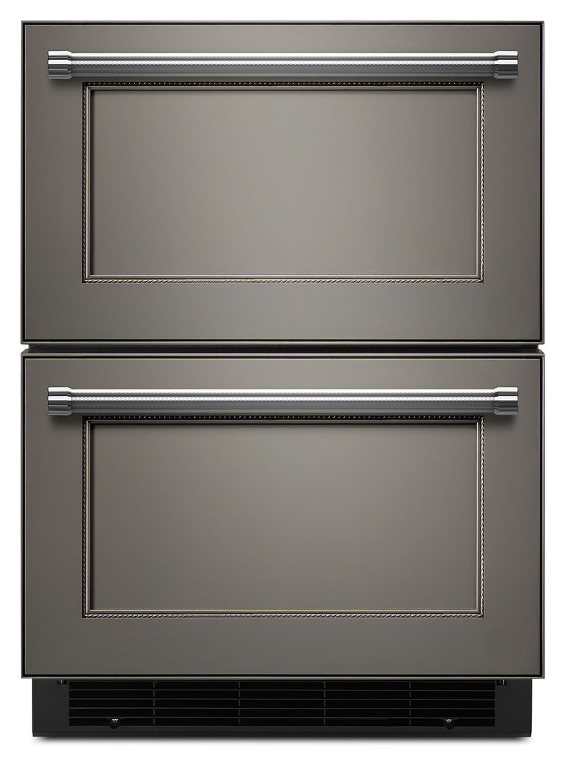 KitchenAid Custom Panel Ready Compact Refrigerator w/ Freezer Drawer (4.7 Cu. Ft.) - KUDF204EPA