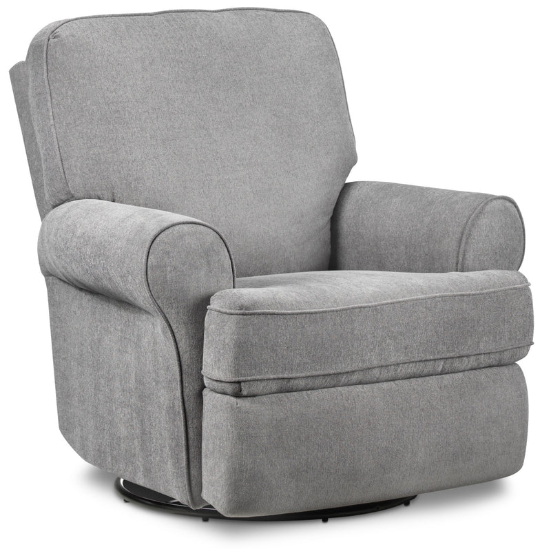 Gracie Swivel Glider Recliner - Graphite