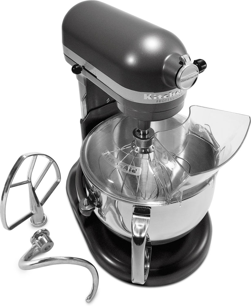 KitchenAid Dark Pewter 6-Quart Bowl-Lift Stand Mixer - KP26M1XDP