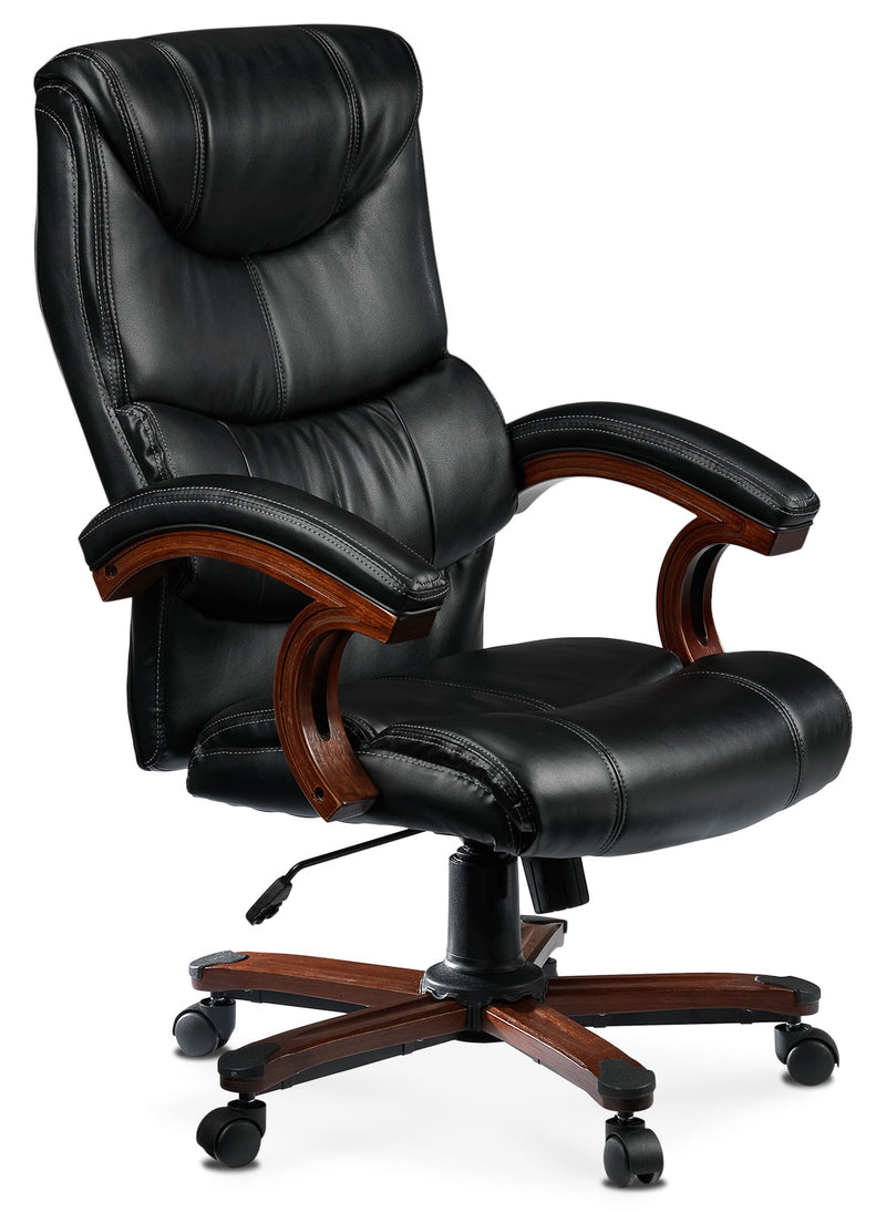 Irvan Office Chair - Black