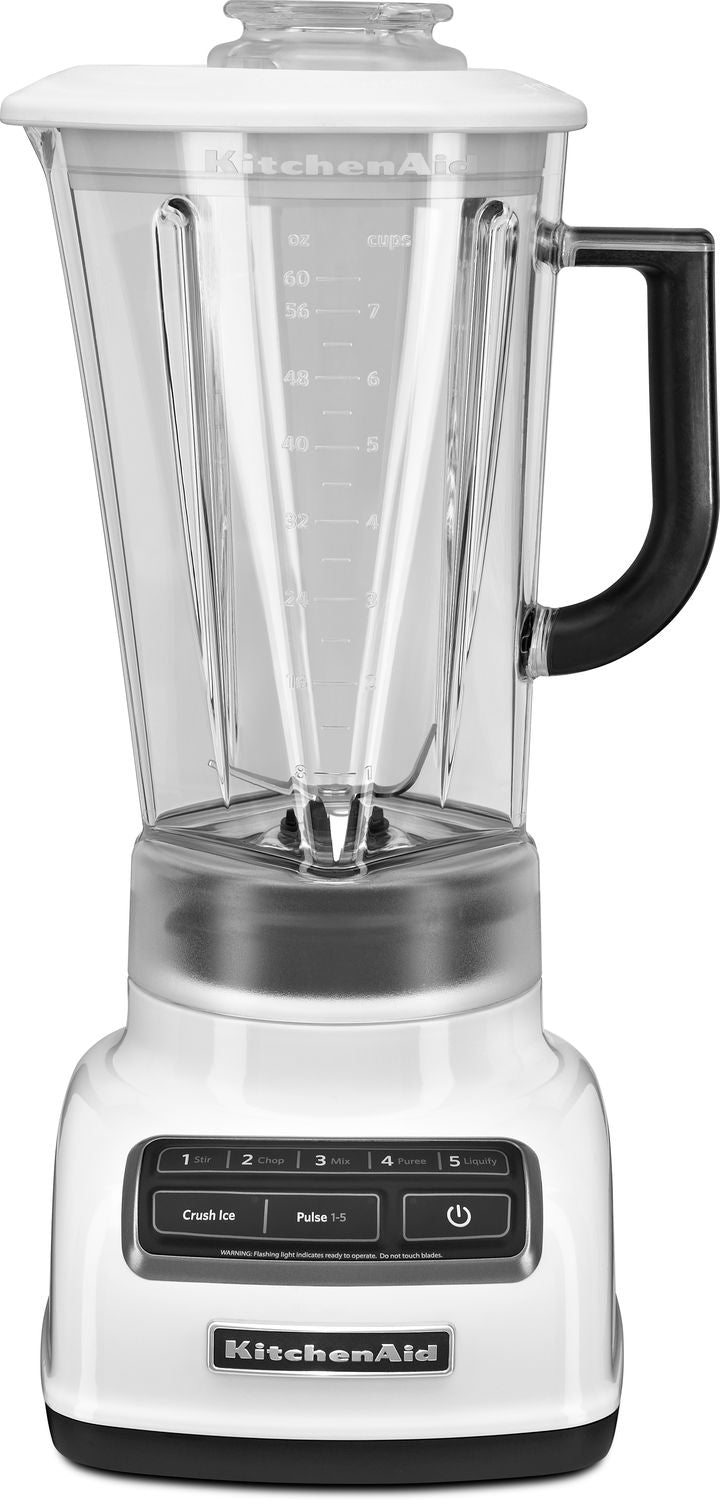 KitchenAid White 5-Speed Diamond Blender (60 oz.) - KSB1575WH