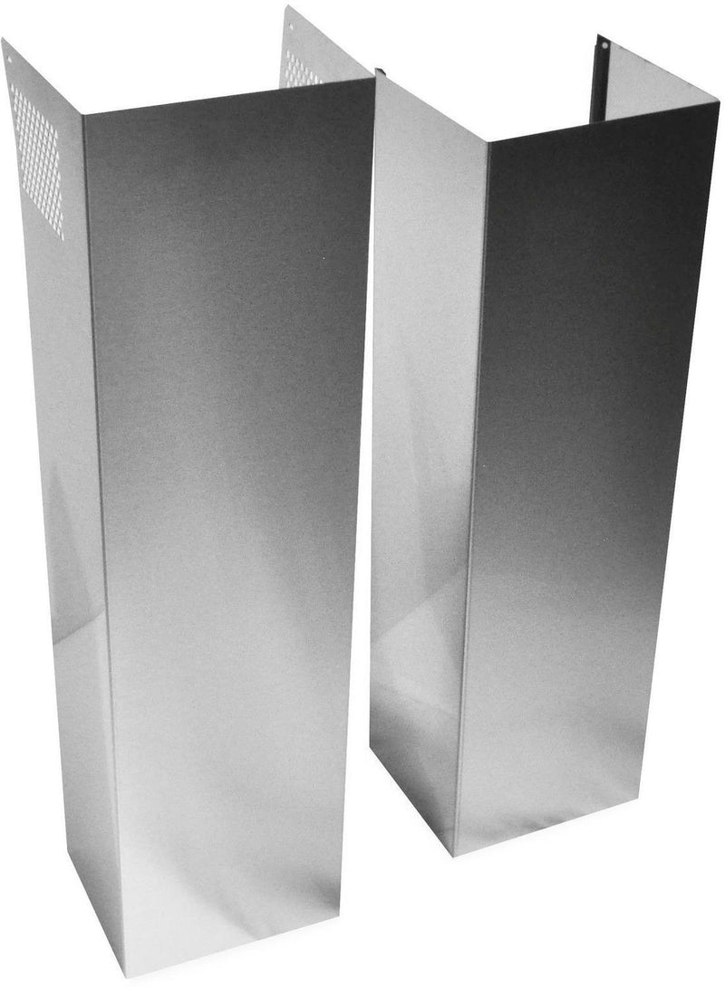 Whirlpool Stainless Steel Wall Hood Chimney Extension Kit - EXTKIT25FS