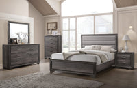Sophie Queen Bed - Weathered Grey