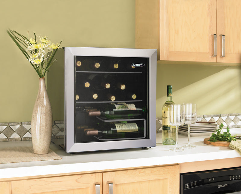Danby Platinum Countertop Wine Cooler (1.8 Cu. Ft.) - DWC172BLPDB