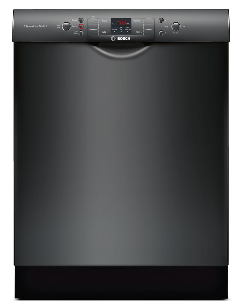 "Bosch Black 24"" Dishwasher - SGE53U56UC"