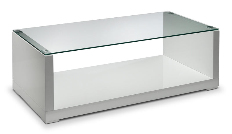 Sambora Coffee Table - White