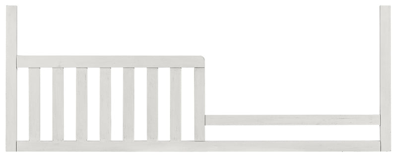 Riley Toddler Rail - Brushed White