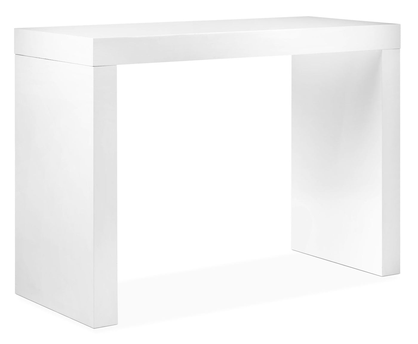Beau Emile Bar Table   White. Touch To Zoom
