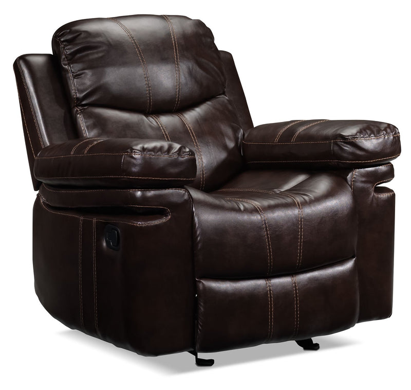 Barcelona II Recliner - Dark Brown