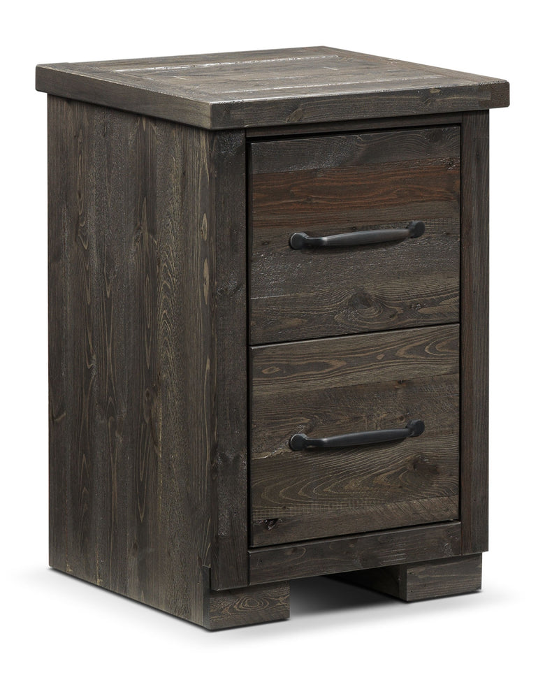 Pine Ridge 18-inch Night Table - Slate