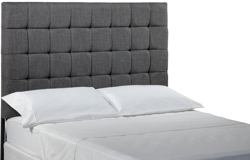 Galvin Full Headboard - Grey
