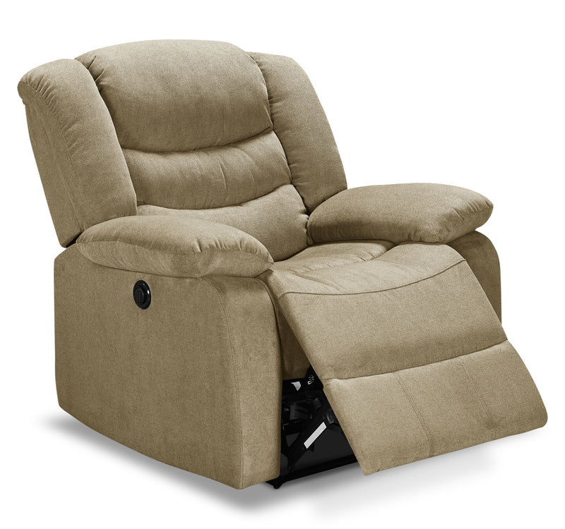 Lana Power Recliner - Taupe
