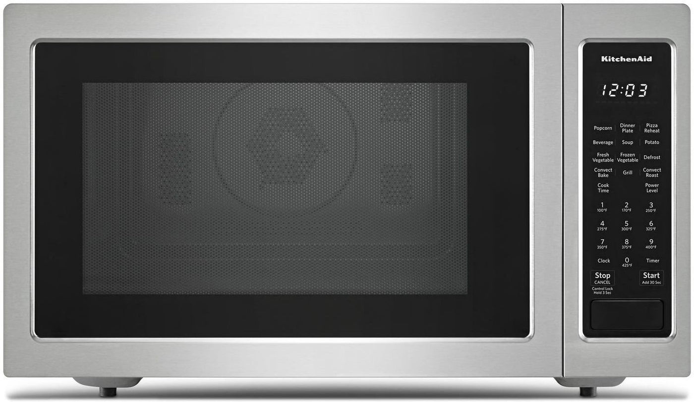 "KitchenAid Stainless Steel Countertop Microwave (1.5 Cu. Ft ... on goldstar microwave, over-the-range microwave, kitchenaid parts, maytag microwave, lg microwave, stainless steel microwave, whirlpool microwave, hotpoint microwave, emerson microwave, samsung microwave, magic chef microwave, red microwave, electrolux microwave, 24"" wide microwave, microwave parts, kitchenaid stand mixer, built in microwave, kenmore microwave, amana microwave, sanyo microwave, frigidaire microwave, ge microwave, kitchenaid dishwasher, sharp microwave, kitchenaid attachments, cuisinart microwave, kitchenaid refrigerator, kitchenaid cooktop, panasonic microwave, modern microwave, kitchenaid mixer, bosch microwave, tappan microwave,"