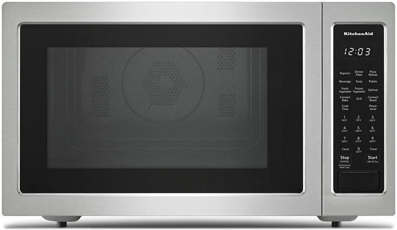 KitchenAid Stainless Steel Countertop Microwave (1.5 Cu. Ft.) - KMCC5015GSS