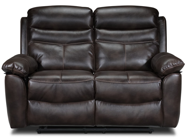 Leather Look Loveseats