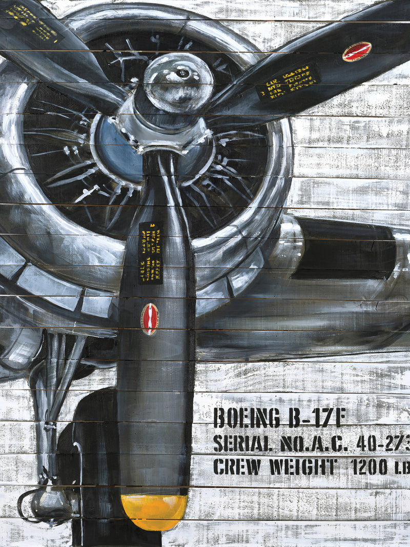 "Propeller Canvas Painting (36"" X 48"")"