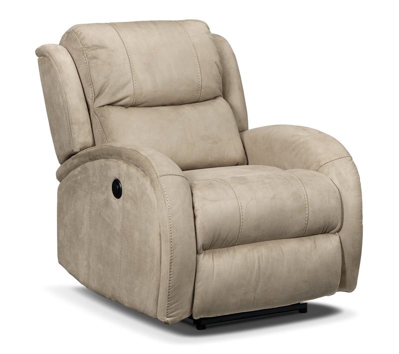 DiCarlo Power Recliner - Beige