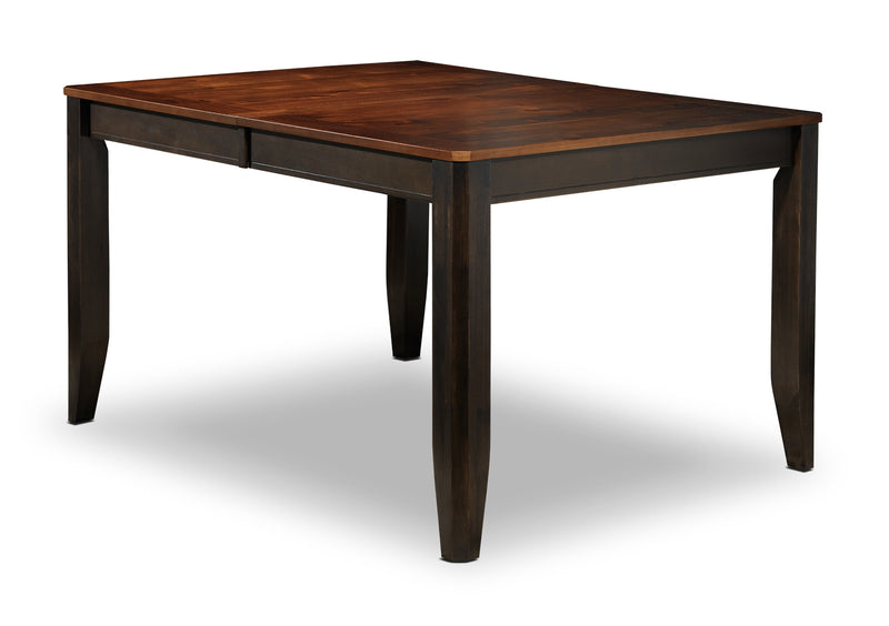 Krista Dining Table - Dark Chocolate