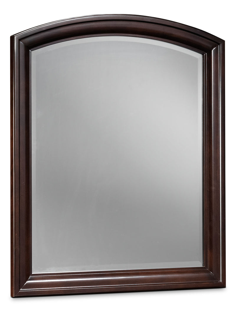 New Justin Mirror - Deep Cherry