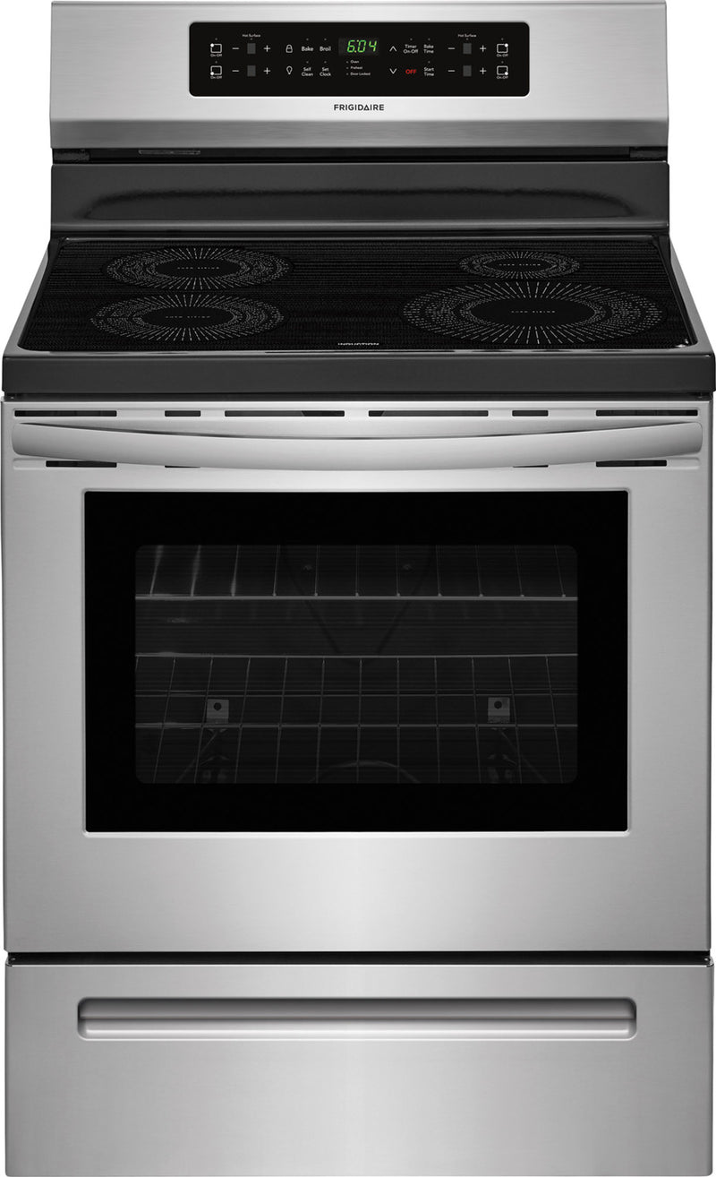 Frigidaire Stainless Steel Freestanding Electric Induction Range (5.3 Cu. Ft.) - CFIF3054TS