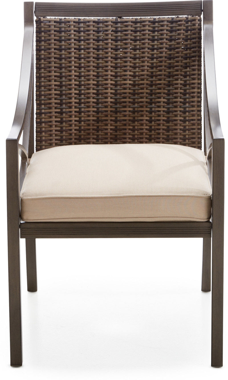 Davenport Outdoor Arm Chair - Brown and Beige
