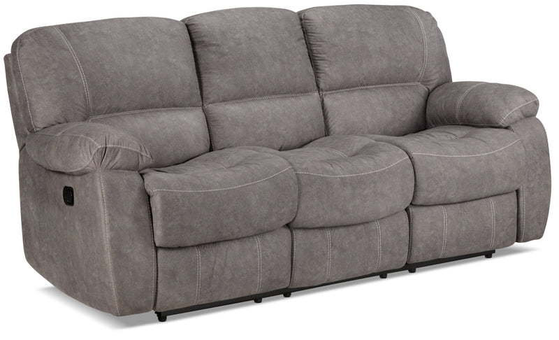 Peyton Reclining Sofa - Grey