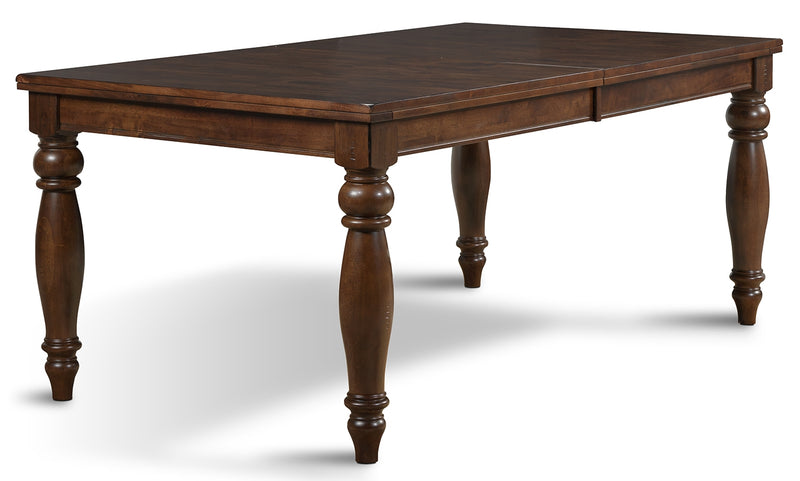Kingstown Dining Table - Chocolate