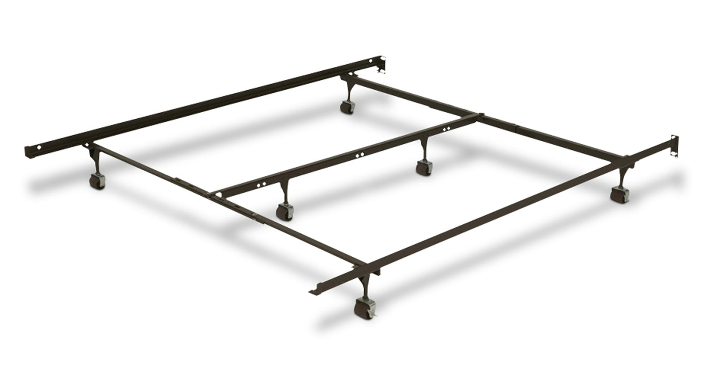 Adjustable Roller Full/Queen/King Bed Frame | Leon\'s