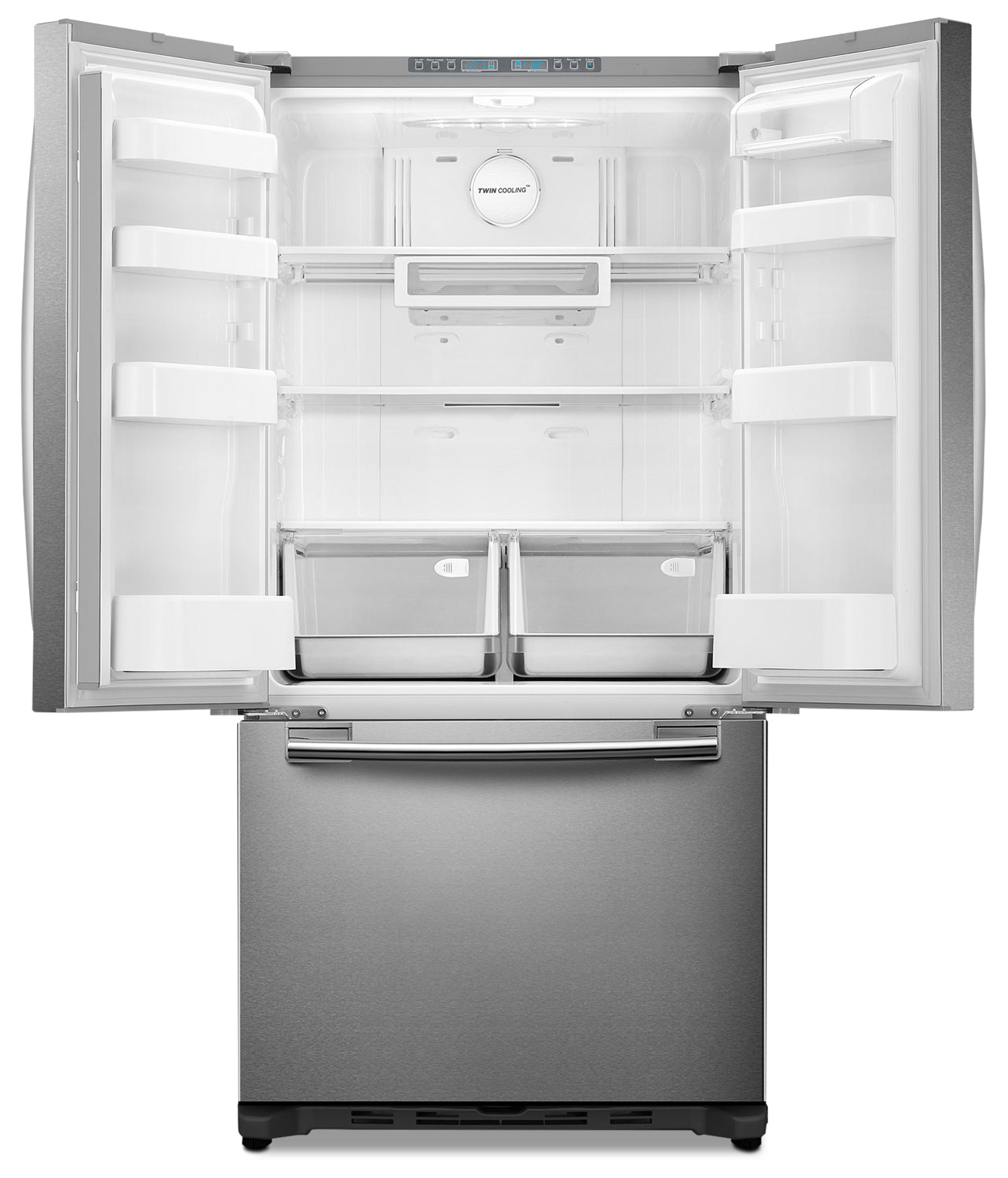 Samsung Stainless Steel Counter Depth French Door Refrigerator 175