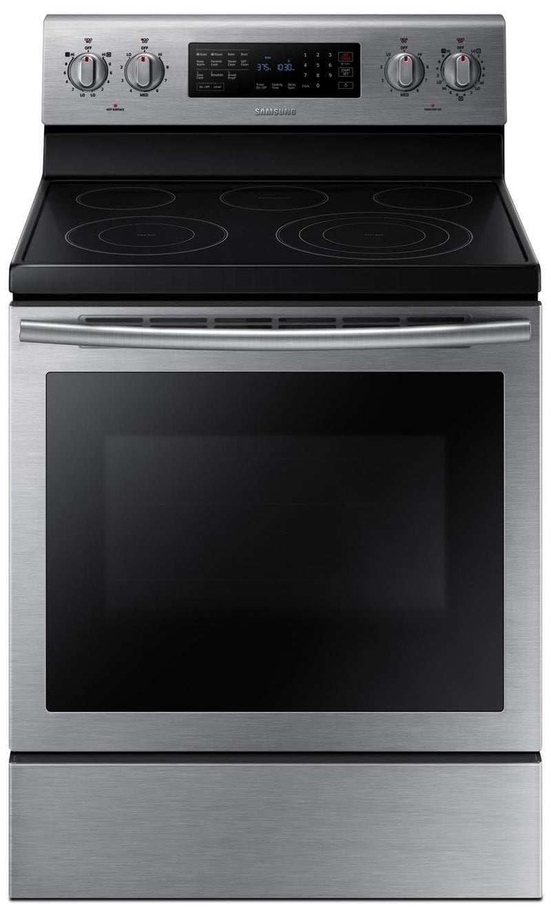 Samsung Stainless Steel Electric Convection Range (5.9 Cu. Ft.) - NE59J7630SS/AC