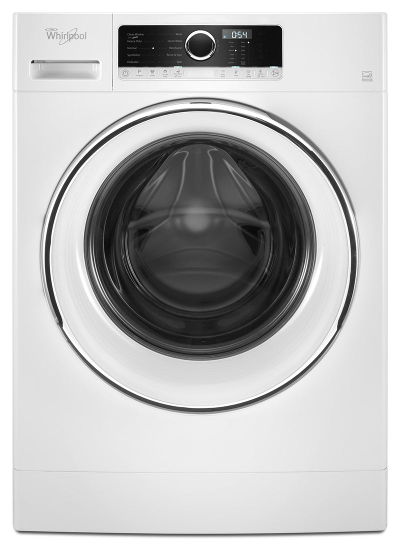 Whirlpool White Front-Load Washer (2.6 Cu. Ft. IEC) - WFW5090GW