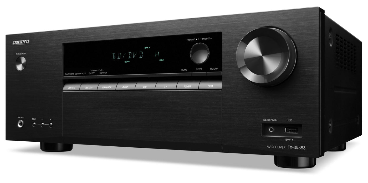 Onkyo 72 Ch 4k Hdr A V Receiver Tx Sr383 Leons Ampcircuits Surround Amplifier Circuit With Tda7053 Previous Next