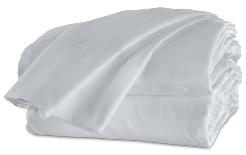 Acadia Queen Sheet Set - White
