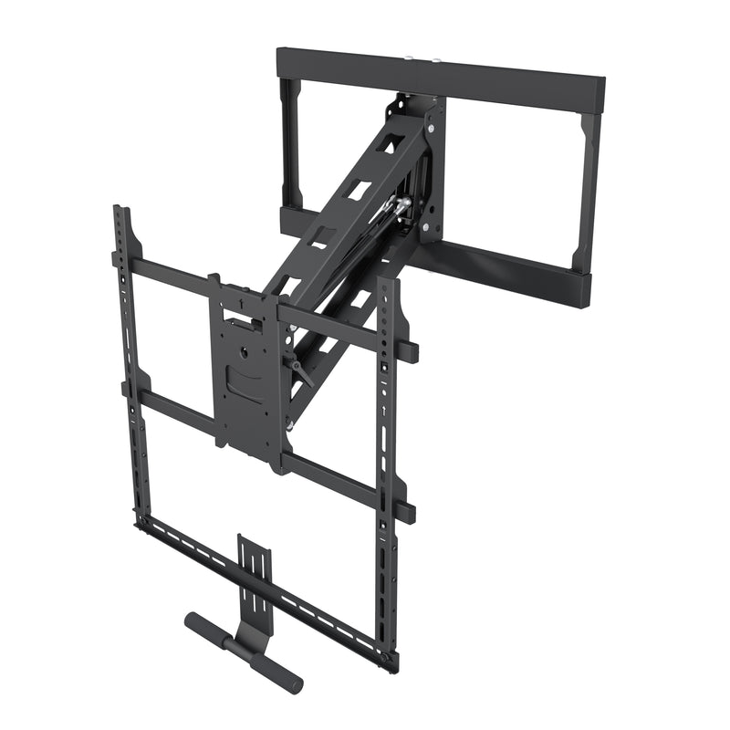 "Above Fireplace Pull-Down TV Wall Mount for 42"" to 65"" TVs - FM100"