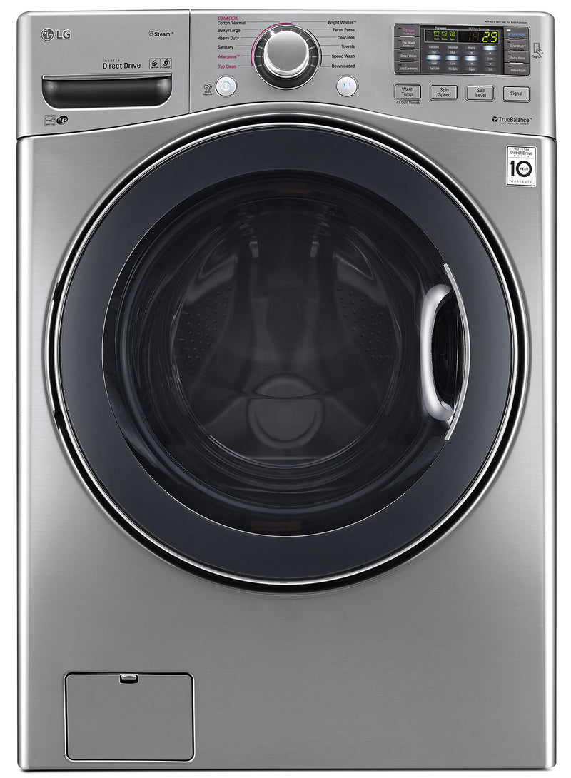 LG Appliances Graphite Steel Front-Load Washer (5.2 Cu. Ft.) - WM3770HVA