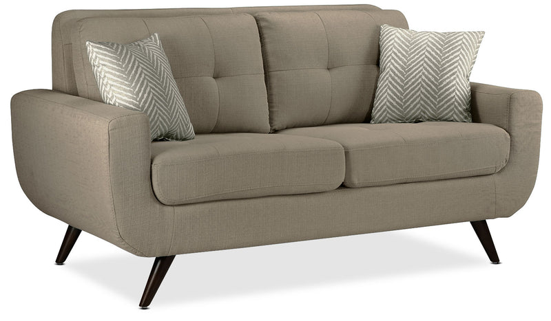 Julian Loveseat - Grey