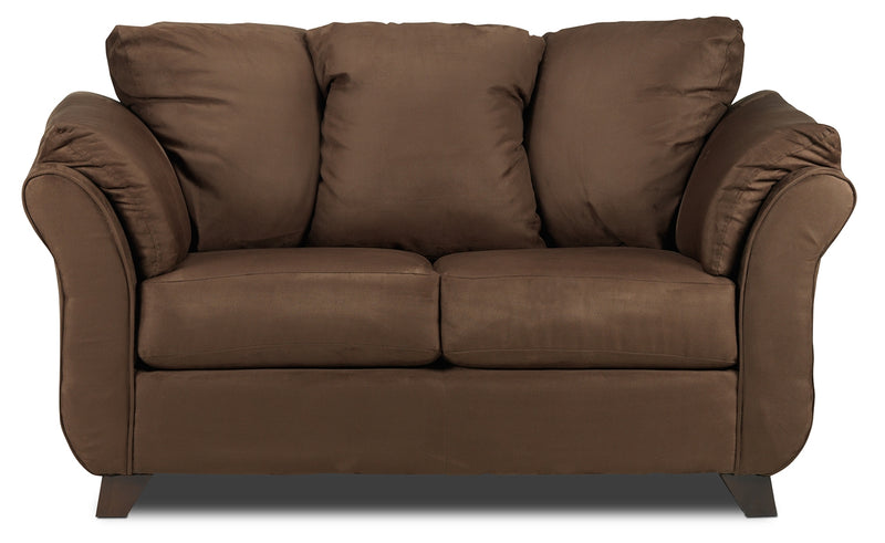 Collier Loveseat - Chocolate