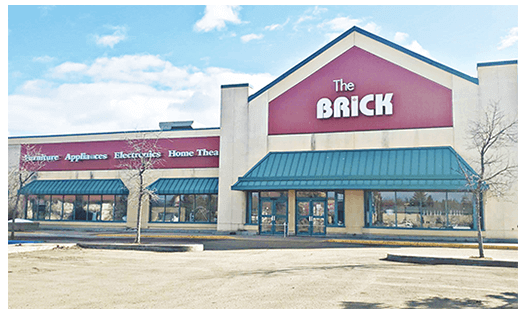 The Brick  Lloydminster Location