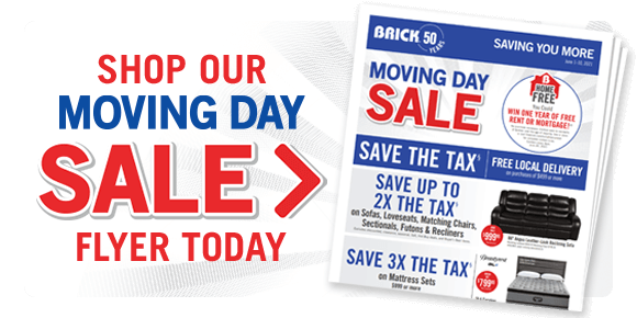 Shop our Moving Day Sale Flyer today.