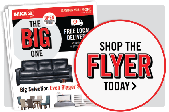Shop The Big One Flyer