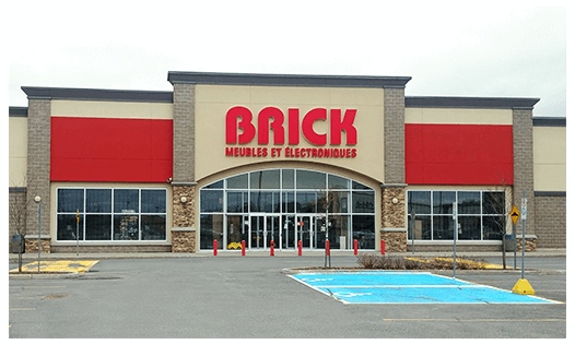 The Brick  Drummondville Location