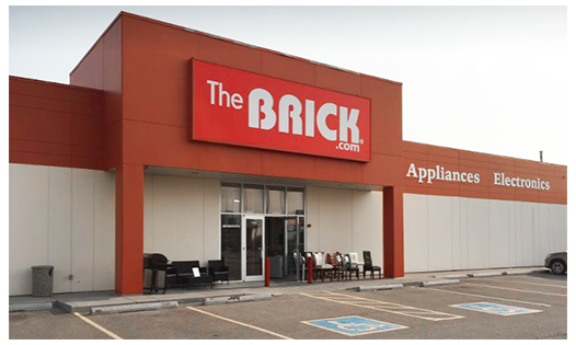 The Brick  Airdrie Location