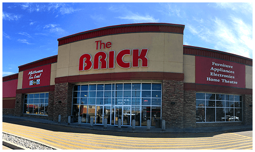 The Brick  Red Deer Location