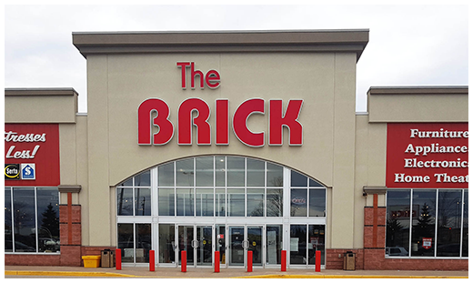 The Brick  Barrie Location