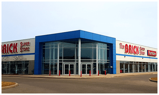The Brick  Superstore Mississauga Location