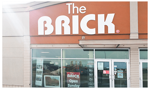 The Brick  Vegreville Location