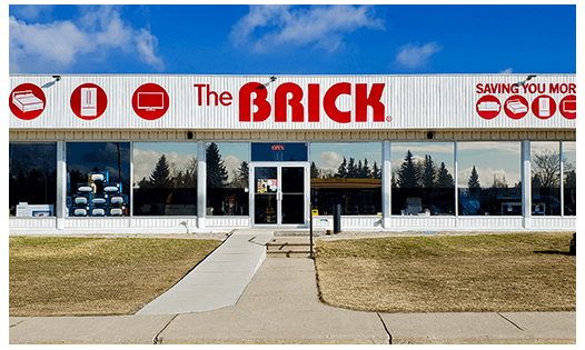 The Brick  Olds Location
