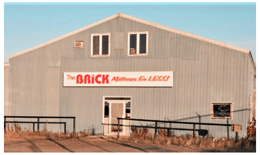 The Brick  Moosonee Location