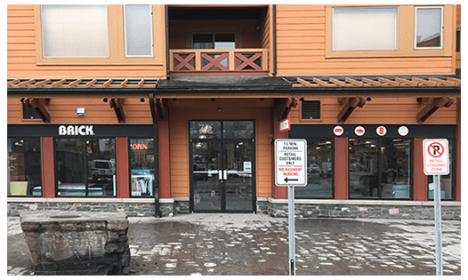 The Brick  Canmore Location
